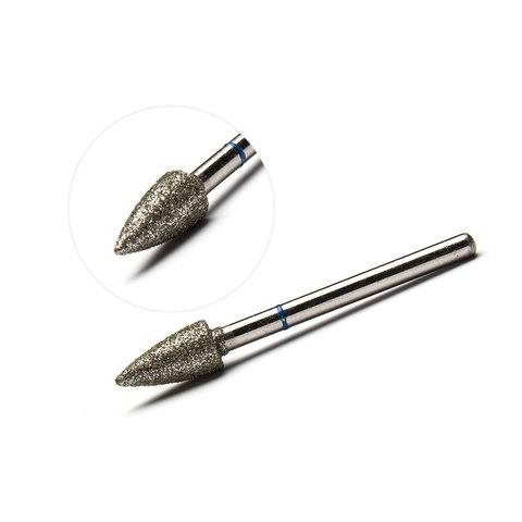 Фреза алмазная, пламя (средняя твердость) 5.2х10.5 мм