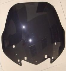 Ветровое стекло для мотоцикла Yamaha FJR1300 01-05 DoubleBubble Черное