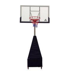 """Баскетбольная мобильная складная стойка со щитом 56"""" (143 х 80 см) из поликарбоната"""