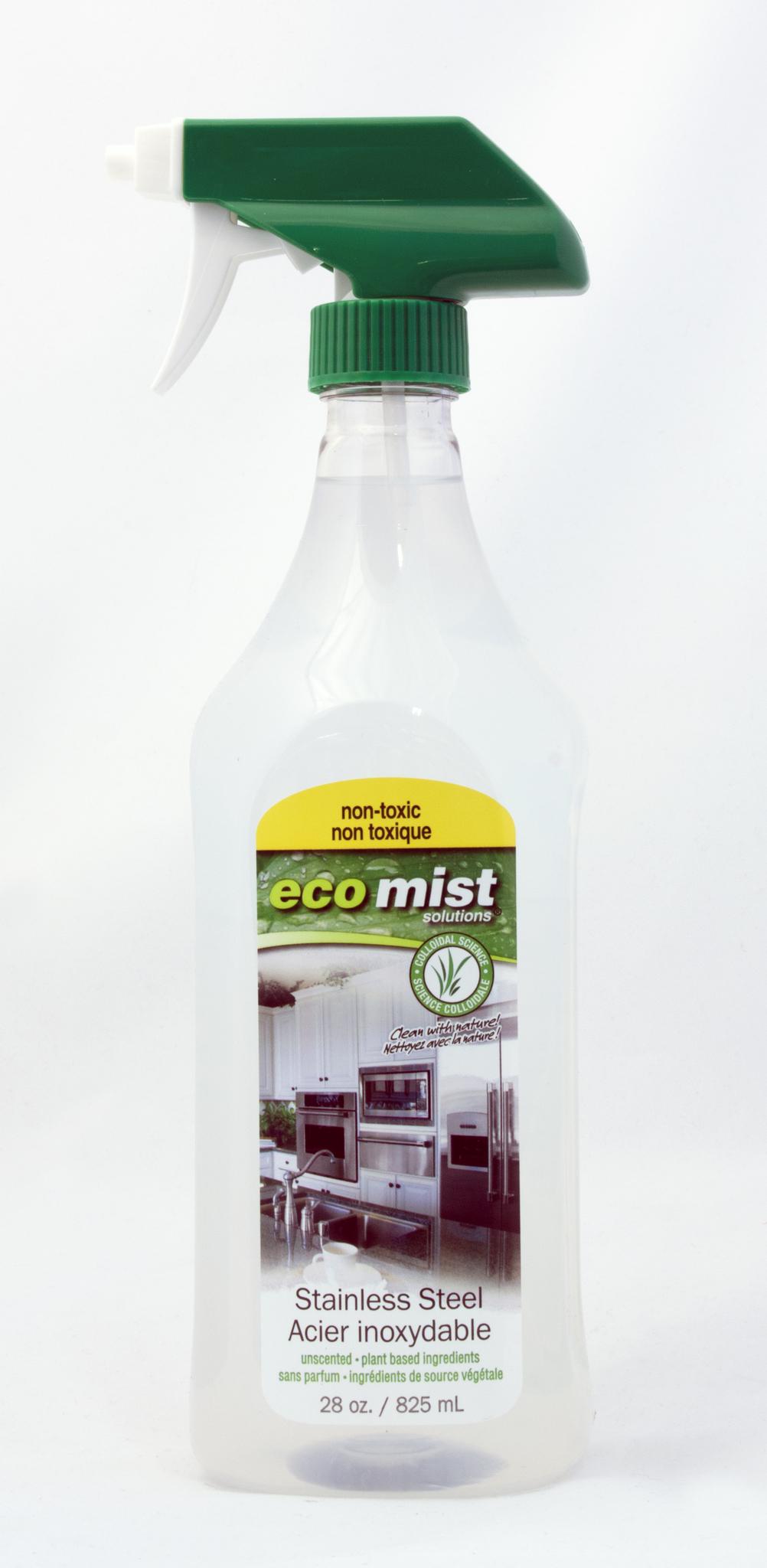 Средство для очистки поверхностей из нержавеющей стали Stainless Steel ECO MIST