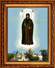 Неугасимая Свеча (Вратарница Угличская). Икона Божьей Матери на холсте.