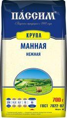 """Крупа """"Пассим"""" манная нежная 700г"""