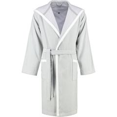 Элитный халат велюровый LC-Wing светло-серый от Vossen