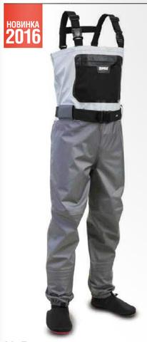 Вейдерсы Rapala X-Protect Chest Digi цвет серо-стальной
