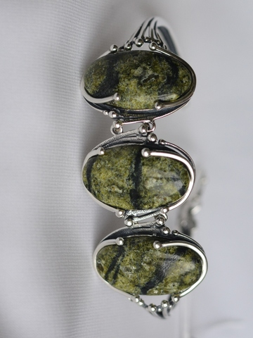Веда (серебряный браслет)