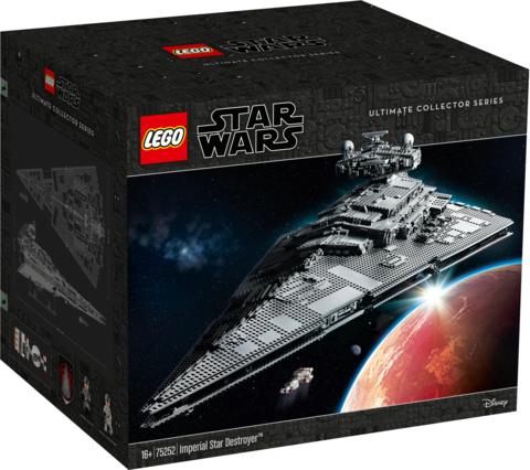 LEGO Star Wars: Имперский звёздный разрушитель 75252 — Imperial Star Destroyer — Лего Звездные войны Стар Ворз