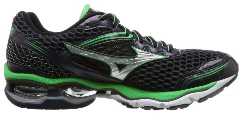 Мужские кроссовки для бега Mizuno Wave Creation 17 (J1GC1518 05) черные  фото