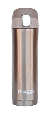 Термос-кружка Muggs Diva 0,45 л. золотистая