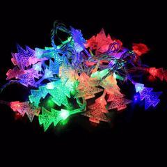 Электрическая светодиодная гирлянда - Ёлочки