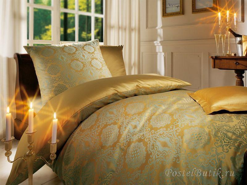 Постельное Постельное белье 2 спальное евро Curt Bauer Bologna золотое 2317-elitnoe-postenoe-belie-bologna-ot-curt-bauer-zolotoy.jpg