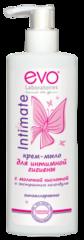 Крем-мыло EVO Intimate для интимной гигиены с календулой 200 мл.