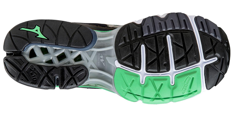 Мужские кроссовки для бега Мизуно Wave Creation 17 (J1GC1518 05) черные  фото