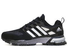 Кроссовки Мужские Adidas Marathon TR 13 Black White