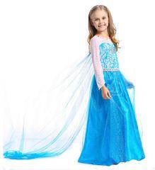 Платье настоящей принцессы Эльзы + подарок Диадема Эльзы