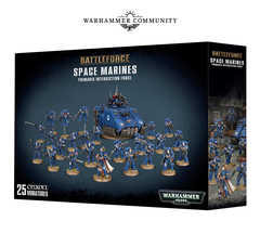 Battleforce Space Marine Primaris Interdiction Force