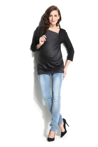Блузка 01104 черный