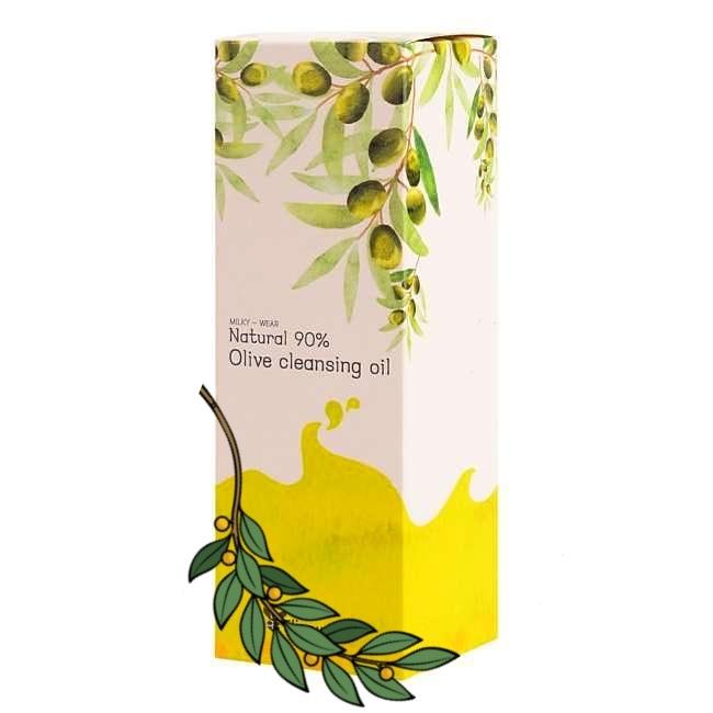 Гидрофильное масло Гидрофильное масло с оливой Elizavecca Natural 90% Olive Cleansing Oil Gidrofilnoe-maslo-s-olivoi-Elizavecca-Natural-90_-Olive-Cleansing-Oil-1.jpg