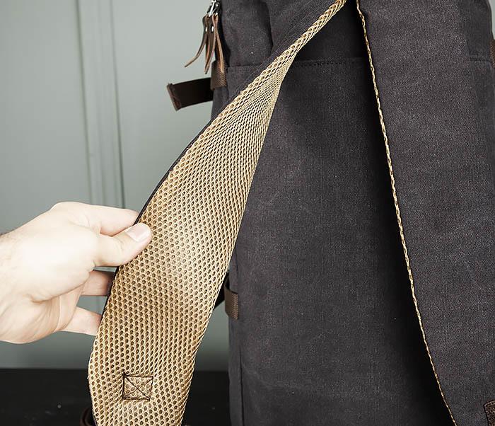 BAG309-1 Удобная сумка рюкзак с ремнем на плечо фото 08