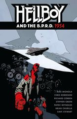 Hellboy and the B.P.R.D.: 1954 с автографами Майка Миньолы и Стивена Грина
