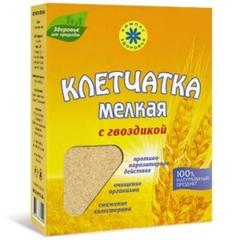 Клетчатка пшеничная мелкая с гвоздикой, 200 гр. (Компас Здоровья)