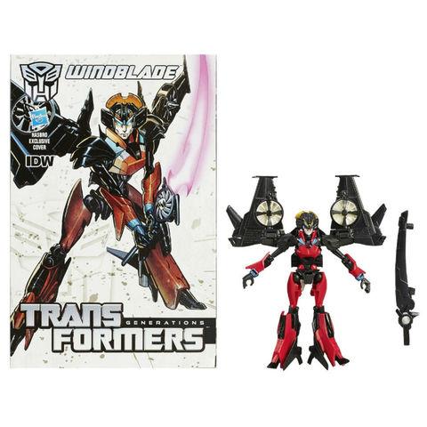 Робот - трансформер Виндблейд с Комиксом (Windblade) - Поколение Трансформеров, Hasbro