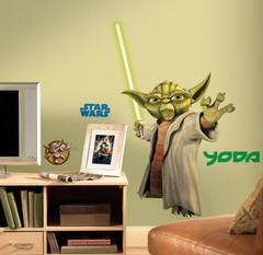 Star Wars Yoda Peel & Stick Wall Decals