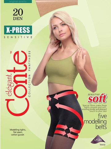 Женские колготки X-Press 20 XL Conte