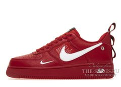 Кроссовки мужские Nike Air Force 1 LV8 Red White