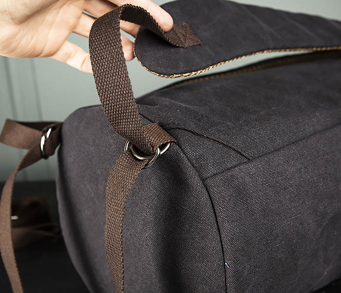 BAG309-1 Удобная сумка рюкзак с ремнем на плечо фото 09