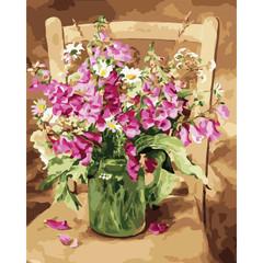 Изящество цветов- раскраски по номерам