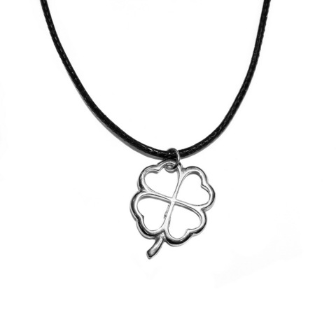 The Four Leaf Clover pendant, sterling silver