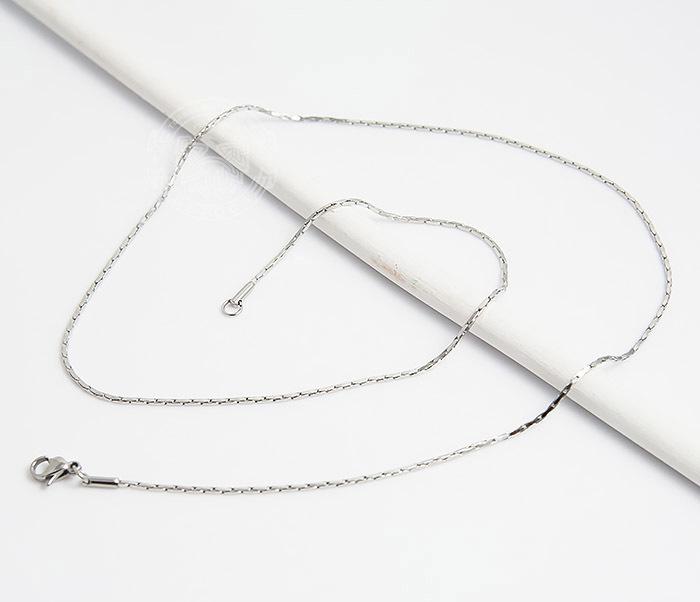SSNH-0188Оригинальная мужская цепочка «Spikes» из ювелирной стали (55 см) фото 03