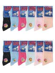 815 KAERDAN носки детские, цветные (12шт)