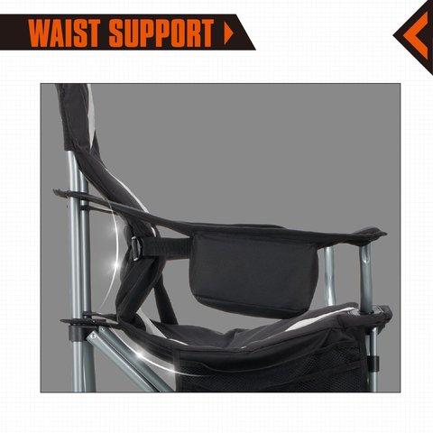 стул кемпинговый Kingcamp Deluxe Steel Arm Chair 3887/3987