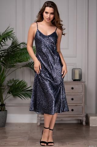 Сорочка женская MIA-Amore AMAZONKA АМАЗОНКА 8665 синяя