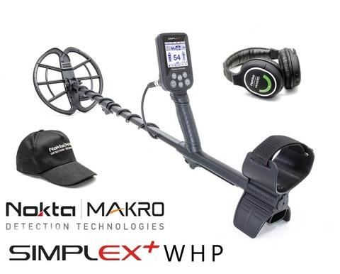 Металлоискатель Nokta Makro Simplex Plus WHP
