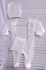 Нарядный костюм для малыша Смокинг айвори