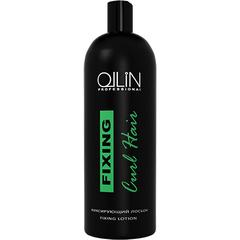 OLLIN curl hair фиксирующий лосьон 500мл/ fixing lotion