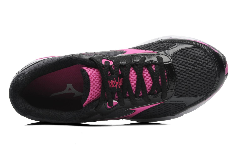 Женские кроссовки для бега Mizuno Legend 2 (J1GD1410 65) черные фото сверху