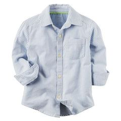 OSH KOSH Рубашка с длинным рукавом в полоску МВ122