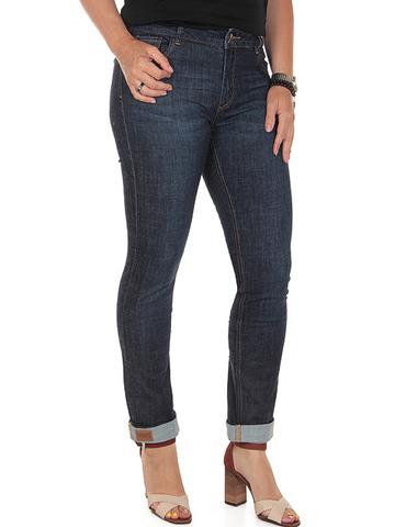D537B-1 джинсы женские, синие