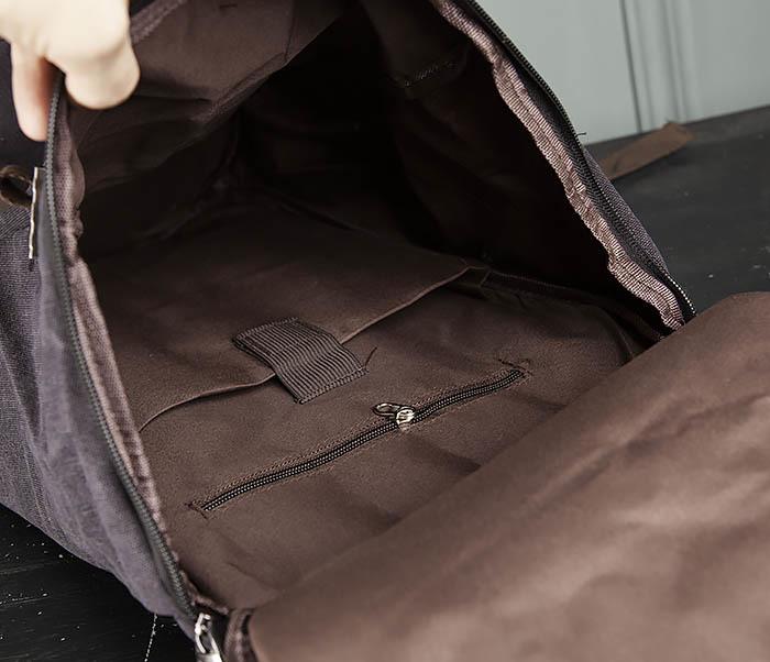 BAG309-1 Удобная сумка рюкзак с ремнем на плечо фото 11