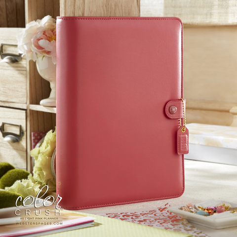 Комплект A5 BINDERS ONLY: Light Pink by Websters Pages