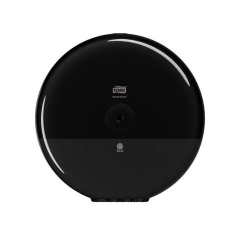 Диспенсер для туалетной бумаги Tork SmartOne T8 в рул 680008 черный