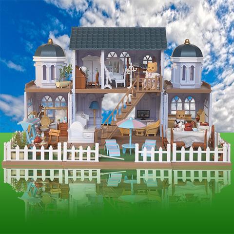 Вилла на морском берегу Happy family 012-11 с полным набором мебели