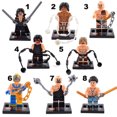 Minifigures WWE World Wrestling Building Block