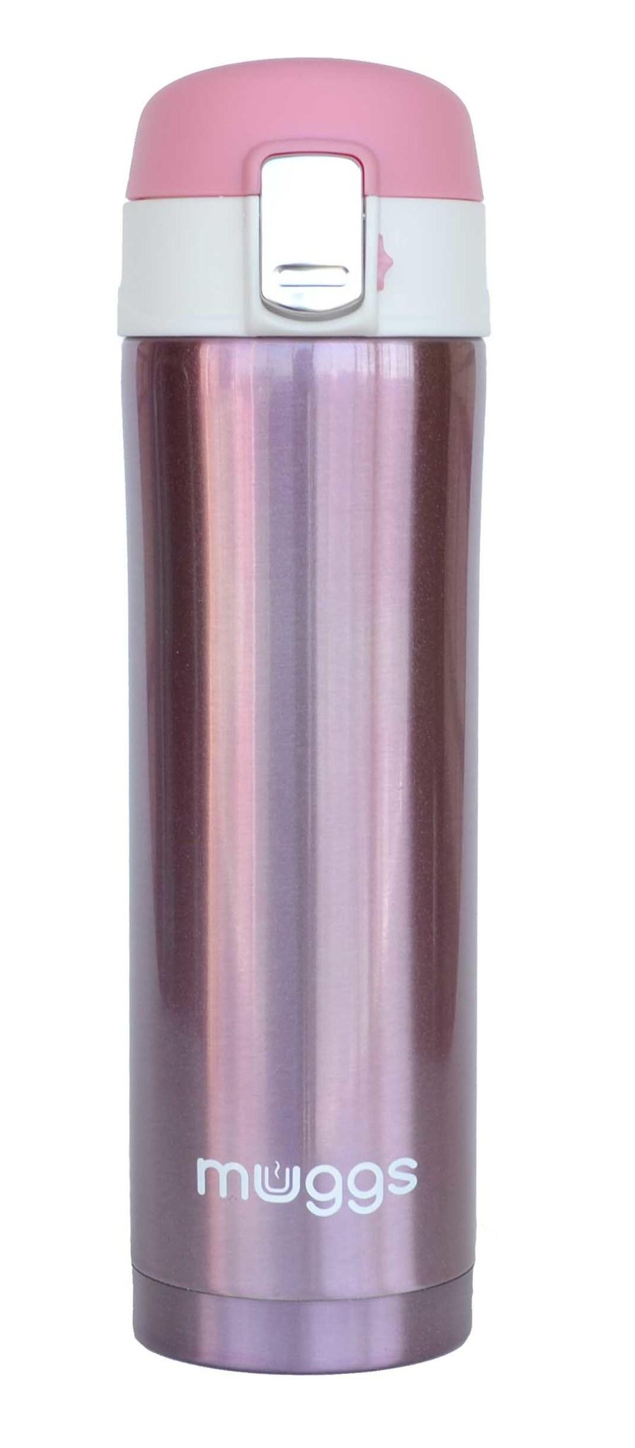 Термос-кружка Muggs Diva 0,45 л. розовая