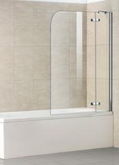 Стеклянная шторка на ванну Welt-Wasser WW 100D2 100 см