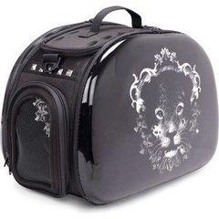 """Складная сумка-переноска для собак и кошек до 6 кг """"Леопард"""", IBIYAYA, 46*32*30 см."""
