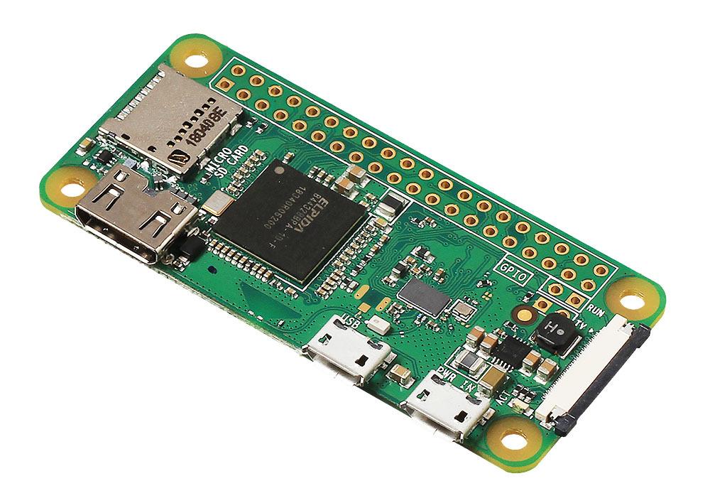Raspberry Pi Zero W (общий вид)